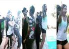 ഒടുവിൽ സണ്ണി ലിയോണിനെയും വെള്ളത്തിലിട്ടു! 'രംഗീല'യുടെ രസകരമായ ലൊക്കേഷൻ വിഡിയോ