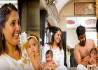 പ്രജിത്തിന്റെയും സാന്ദ്രയുടെയും കൺമണികൾക്ക് ചോറൂണ്! വിഡിയോ