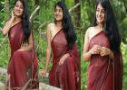 'സാരിയുടുത്ത് സുന്ദരിപ്പെണ്ണായി എസ്തർ അനിൽ'–ചിത്രങ്ങൾ