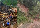 മൂന്നാർ രാജമലയിൽ മണ്ണിടിച്ചിൽ: അഞ്ച് മരണം, മൂന്നു പേരെ രക്ഷപെടുത്തി; 84 പേർ മണ്ണിനടിയിലായതായി സൂചന