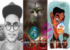 വലിയ കാര്യങ്ങൾ പറയുന്ന കുട്ടിപെൻസിൽ; വേറെ ലെവൽ ബോധവത്കരണവുമായി നൗഫലിന്റെ ചിത്രങ്ങൾ