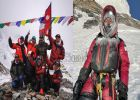 കൊടുങ്കാറ്റിൽ പാരാഗ്ലൈഡിങ് തകർന്നു: 8611 മീറ്റർ മഞ്ഞിലൂടെ നടന്നിറങ്ങി; നിർമലിനു റെക്കോഡ്