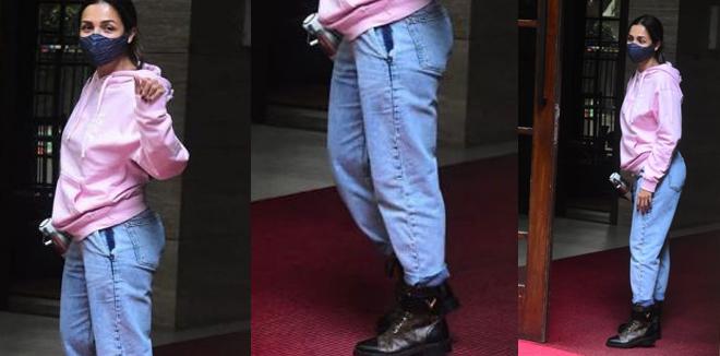 അത്ര സിമ്പിളല്ല മലൈക അറോറ; താരത്തിന്റെ കൂൾ ഷൂസിന്റെ വില വെറും ഒരു ലക്ഷം രൂപ! അമ്പരന്ന് ആരാധകർ