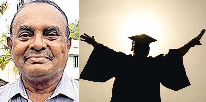 'പഠിച്ചു കൊണ്ടേയിരിക്കണം, അങ്ങനെ കിട്ടുന്ന ഊർജം സന്തോഷം നൽകും': 74ാം വയസ്സിൽ ഒന്നാം റാങ്ക് നേട്ടവുമായി അബ്ദുൽ റഹ്മാൻ