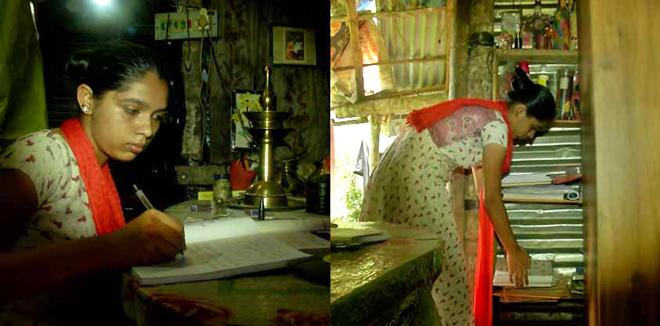 ഏതു നിമിഷവും നിലംപൊത്താറായ കൂര, പെരുംമഴയത്ത് അഭയം തേടുന്നത് ശുചിമുറിയിൽ: ഉറക്കം നഷ്ടപ്പെട്ട് അമ്മയും മക്കളും, കണ്ണീര്കാഴ്ച