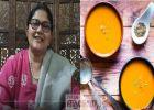 പ്രമേഹരോഗികൾക്കു പോലും ധൈര്യമായി കഴിക്കാം ഈ സൂപ്പർ ഹെൽതി സൂപ്പ്: മത്തങ്ങ–കാരറ്റ് സൂപ്പ് വിഡിയോ കാണാം