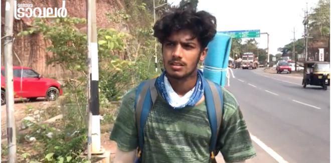കാൽനട യാത്രയ്ക്ക് കോവിഡ് ബ്രേക്ക്: കശ്മീരിൽ എത്താനായില്ല; സുറയ്ഹ് കണ്ണൂരിലേക്കു മടങ്ങി