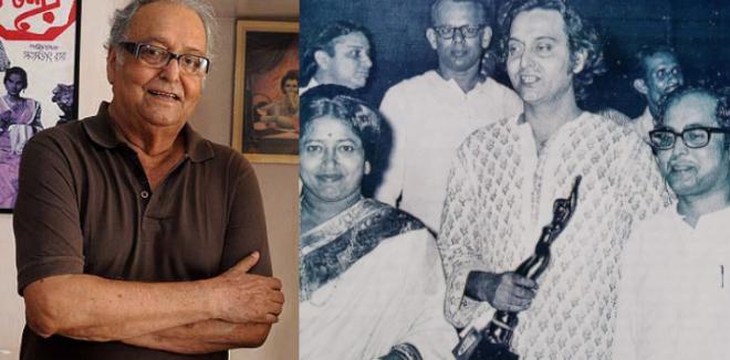സൗമിത്ര ചാറ്റർജി അന്തരിച്ചു ; നഷ്ടമായത് ഇന്ത്യൻ സിനിമയുടെ  ഇതിഹാസത്തെ