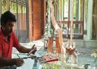 വീടിനകത്തെ പച്ചപ്പാണ് ലോക്ഡൗണിലെ സന്തോഷം. ആർക്കിടെക്ട് ബിജു ബാലൻ പറയുന്നു.